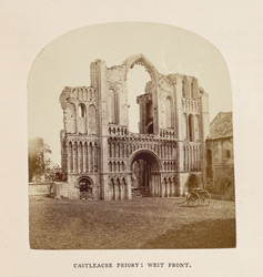 Castleacre Priory; West Front